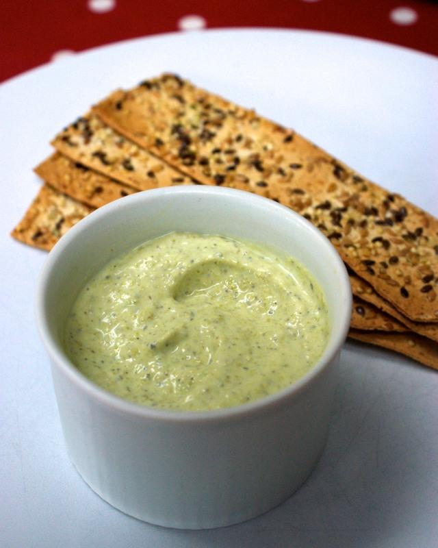 creamy minted pea dip recipe