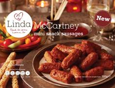 Linda McCartney mini snack sausages