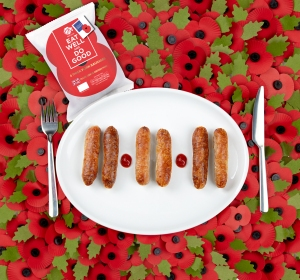Red Lion sausages raising money for troops' charities