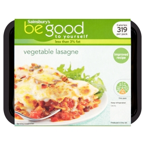 Be good to yourself ready meals